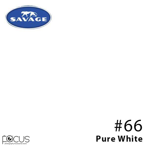 فون کاغذی 3*11 Savage #66 PURE WHITE